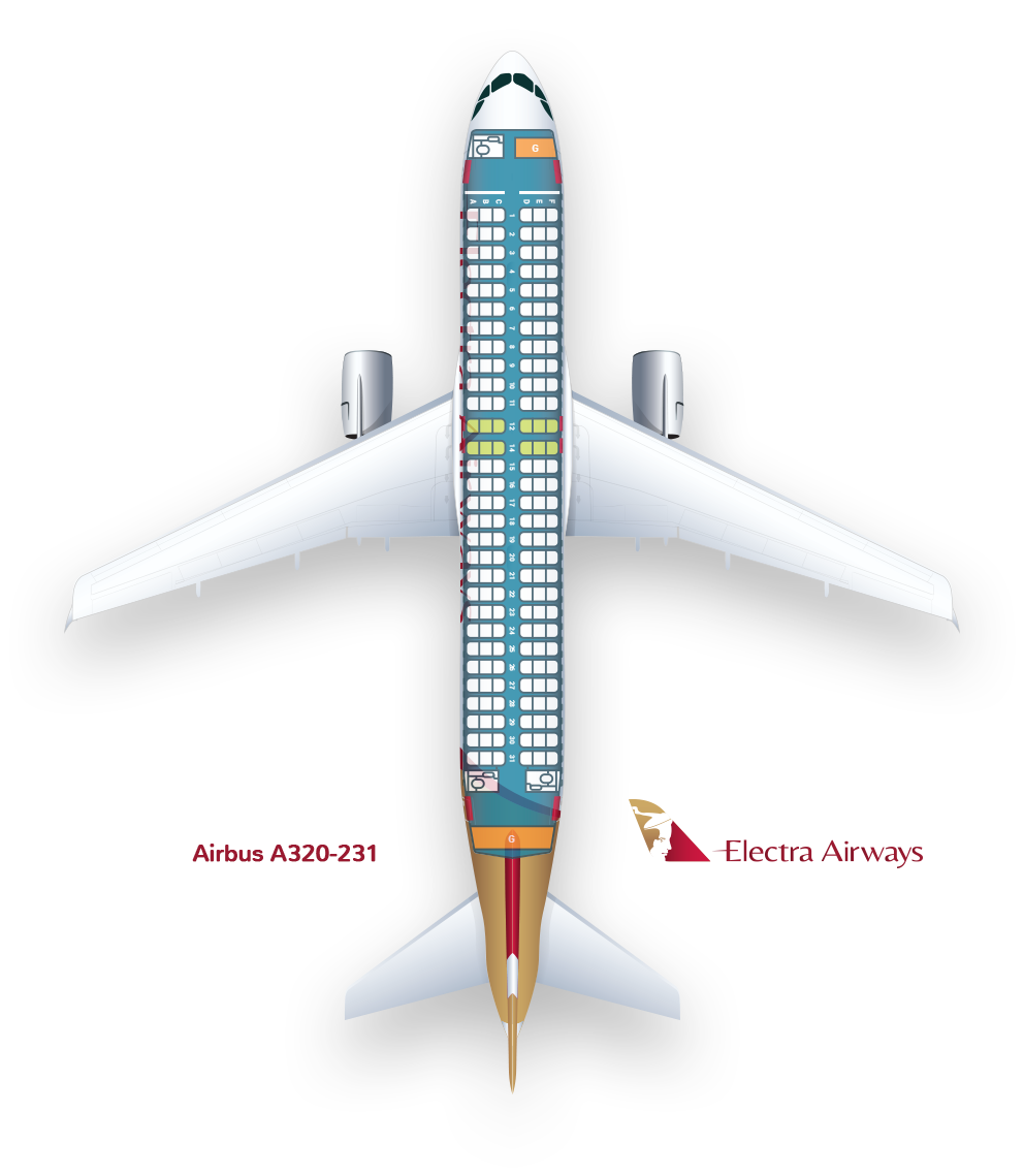 Airbus A320-231 : Electra Airways